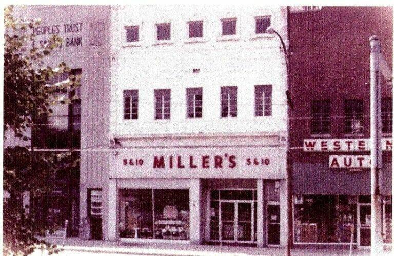 Miller_s w-Western Auto next to it